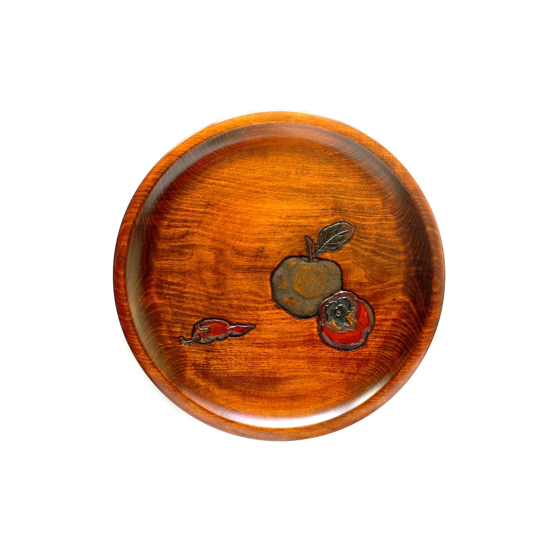 皿盆9寸柚
